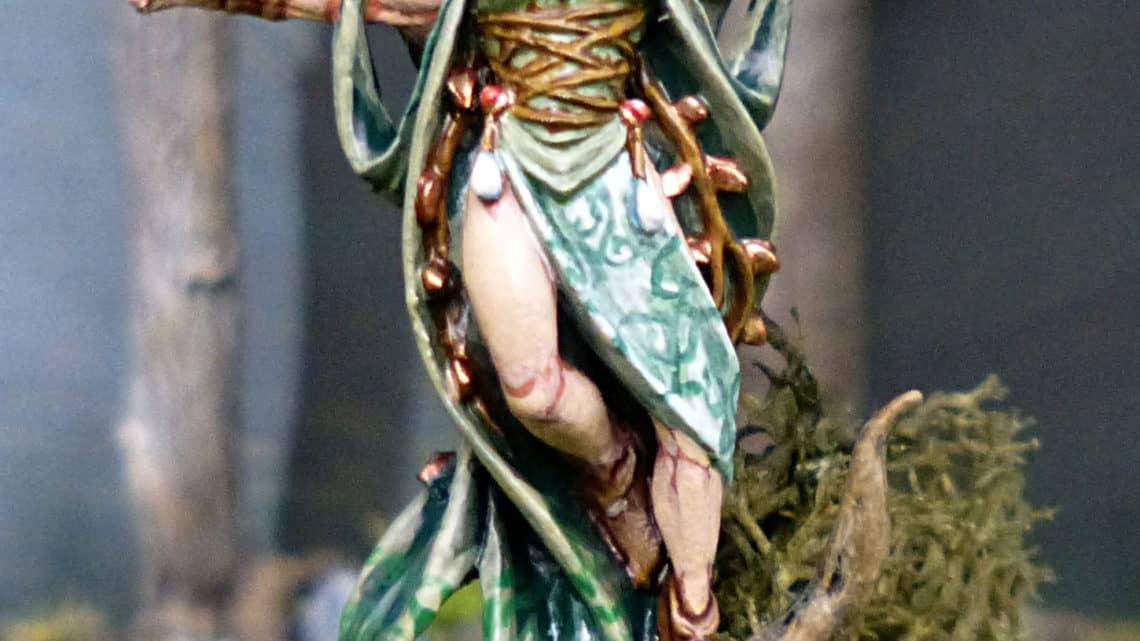 Enchanteresse elfe sylvain