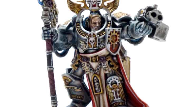 Aldrik Voldus Grand Maître de la 3ème Confrérie et le Maître du Librarium des Chevaliers Gris