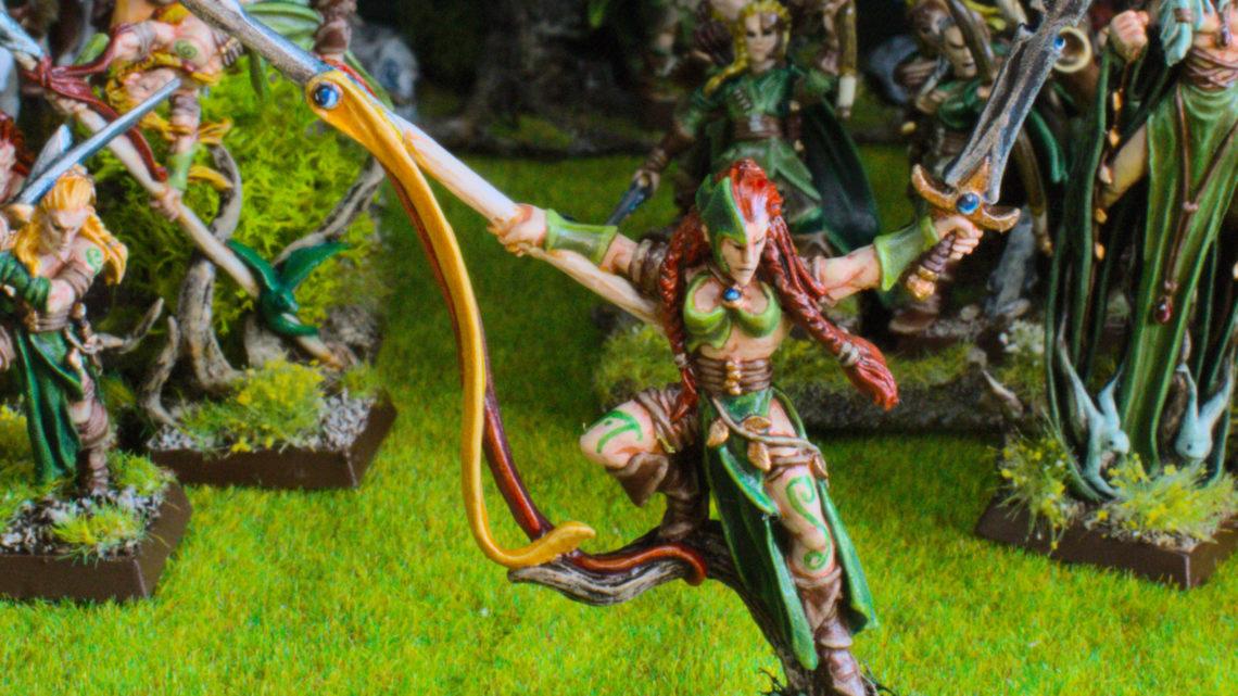 Seigneur danseur de guerre elfe sylvain