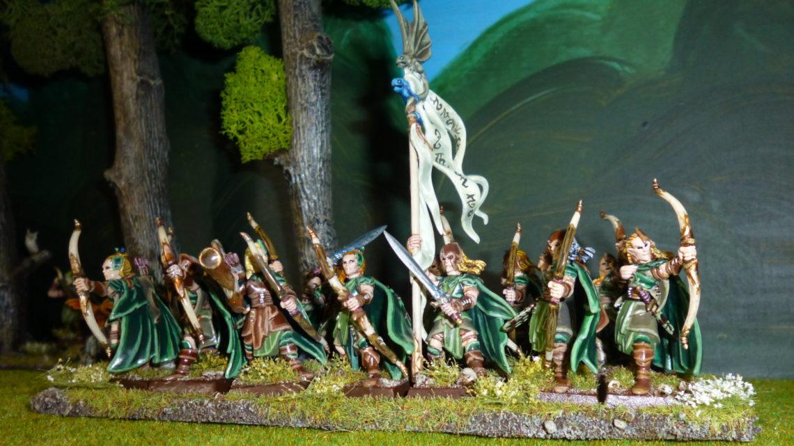 Gardes sylvains et éclaireurs elfes sylvains