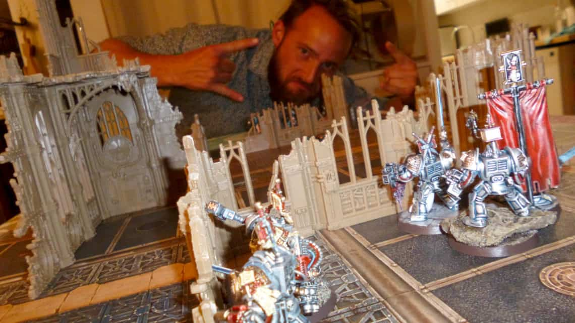 Kill Team – Chevaliers Gris versus Drukhari